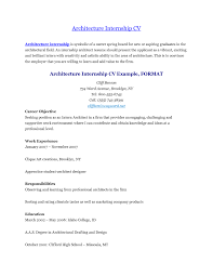 Sample Resume For Architecture Apprenticeship Resume Ixiplay
