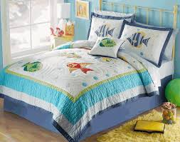 Colorful Sea Tropical Fish Beach Quilt Set | Home - Bedding ... & PEM America bedding at Kohl's - This kids' PEM America Colorful Sea twin  quilt set features features fish appliques and embroidery. Adamdwight.com