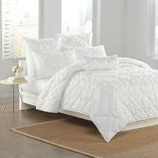 dkny diamond tuck quilt in white home bedding versace blanket