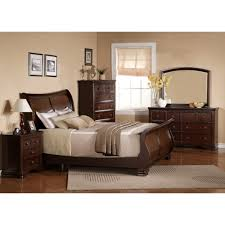 dark bedroom furniture. georgetown dark bedroom bed dresser u0026 mirror queen 48064 furniture