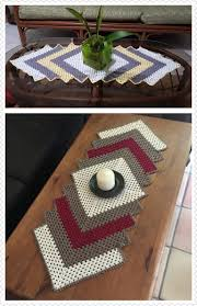 Crochet Table Runner Patterns Easy Magnificent Design