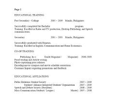 Resume Sample Canada Techtrontechnologies Com