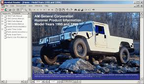 hummer h1 1995 1996 spare parts catalog cars catalogues screenshots for hummer h1 1995 1996