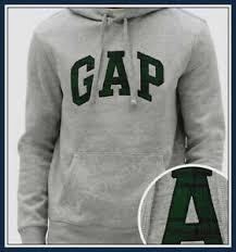 Details About Gap Mens Logo Fleece Pullover Hoodie Gray Heather Size S M L Xl Xxl U Pick
