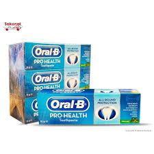 dentifrice dentifrice oral b fresh mint 95g sakanal magasins