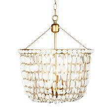 aidan gray sea foam chandelier