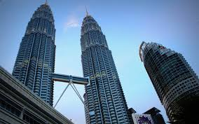 modern architecture skyscrapers. Kuala Lumpur, 4k, Petronas Towers, Evening, Modern Architecture, Skyscrapers, Asia Architecture Skyscrapers D