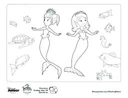 Sofia The First Coloring Pages Clover My Localdea