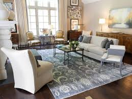 ... Living Room, This Show Stopping Rug Pulls Together A Room Of  Sophisticated Styles And A ...