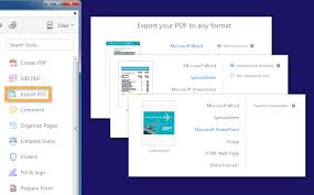 Ms Word Powerpoint How To Export Pdf To Word Excel And Other Microsoft Formats