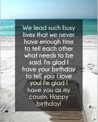 Cousin Love Quotes Best 48 AMAZING Happy Birthday Cousin Quotes With Images BayArt