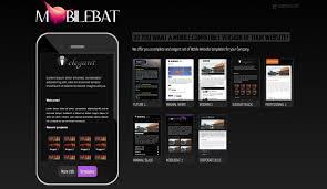 Mobile Website Templates Interesting Mobilebat Mobile Website Templates Luca Martincigh