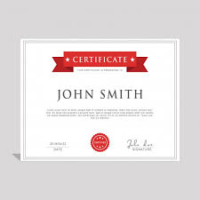 Certificate Template Photoshop Psd Psd Certificate Template Psd Free Download Pikoff
