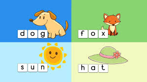 learn to spell 3 letter words kids voary kindergarten pre esol esl us english