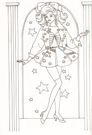 barbie coloring pages part 2 part two of a barbie coloring book