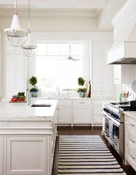 black and white kitchen runner 472 best beautiful white kitchens images on