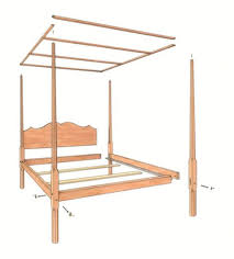four poster bed plans. Delighful Bed More On Beds In Four Poster Bed Plans B