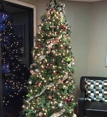 christmas decoration in office. Decorative Christmas Tree With Light For Office Decoration In