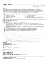 Resume Templates: Industrial Electrician