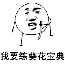 我要练葵花宝典! - 表情图片网页图库手机版