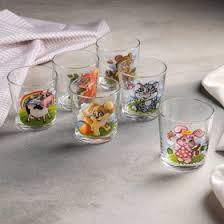"<b>Набор стаканов 250 мл</b> ""Зверята"", 6 шт (1599343) - Купить по ..."