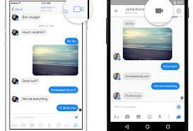 Facebook Video Chart Facebook Messenger App Now Has Free Video Calling