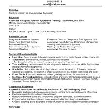 Automotive Resume Templates New Printable Resume Sample For