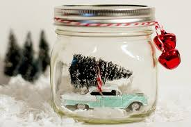 Mason Jar Decorations For Christmas 100 Ways to Make Snow Globes in Mason Jars for Christmas 77