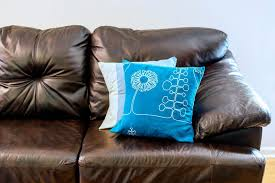 how to repair a leather sofa