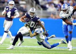 Dallas Cowboys At T Stadium Seating Chart Detroit Lions Fall To Dallas Cowboys 35 27 For 3rd