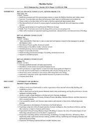Consultant Retail Resume Samples Velvet Jobs