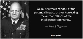 Glasses Quotes 32 Inspiration James R Clapper Quote We Must Remain Mindful Of The Potential