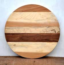 rustic wood round dining table top commercial restaurant tables roman column vintage wooden for