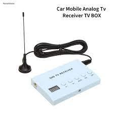 Qc Portable 12V Car Special Analog TV Set-top DVD Box Receiver with Remote  Control