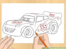 lightning mcqueen drawing. Simple Drawing Image Titled Draw Lightning McQueen Step 5 And Mcqueen Drawing