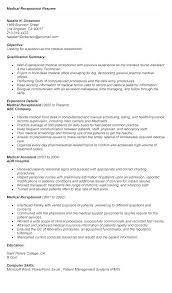 Resume For Receptionist Position Cool Medical Receptionist Sample Resume Free Professional Resume