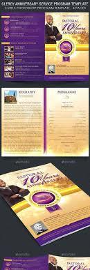 Souvenir Book Template Souvenir Program Template Fold Brochure Template Fold Brochure