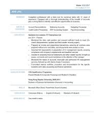 Cv For Accountant Assistant Resume Cover Letter Template