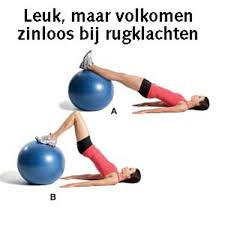 Core stability training oefeningen