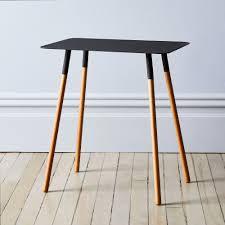 1733fe84 5a62 4aab a1b7 e59d0dc 2017 1201 yamazaki plain square side table black silo rocky luten steel wood