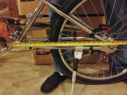 chopper bicycle frame form men