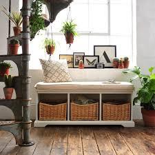 hall shoe storage bench