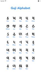 Gujarati Kakko Chart Gujarati Alphabets With English Translation Alphabet Image