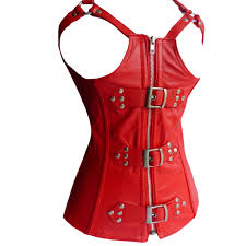 luxury range of leather corset t free womens wear 11 501 red