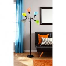 your zone 5 light floor lamp replacement shades colorful image 24 armada 5 arm
