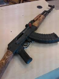 Staining my AK 47 Furniture