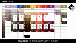 Paul Mitchell The Color Xg Chart Examples Paul Mitchell Hair Color Chart Cocodiamondz Com