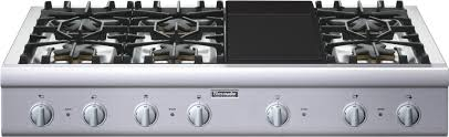thermador 6 burner gas cooktop. main feature thermador 6 burner gas cooktop