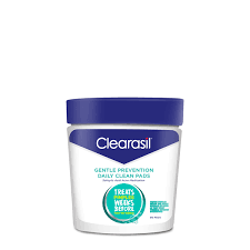 Gentle Prevention <b>Daily</b> Clean <b>Pads</b>, 90 Ct – Clearasil US
