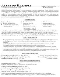 Security Executive Resume Sample Best Of IT Functional Resume Sample Good To Know Pinterest Functional